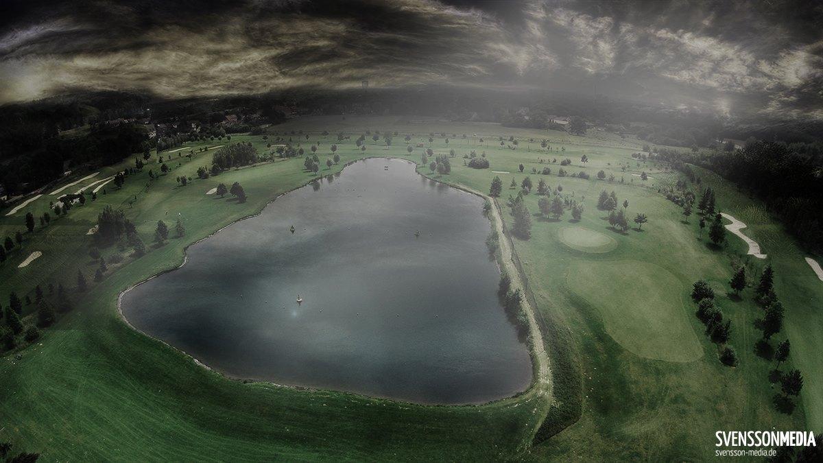 Luftaufnahme Golfclub