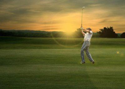 Fotos vom Golf spielen