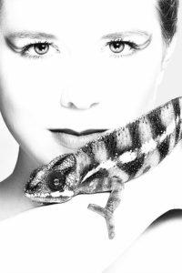 Portraitfotografie mit Reptilien