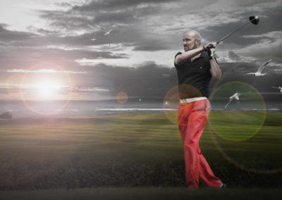 Portraitfotos Golf Spieler NRW