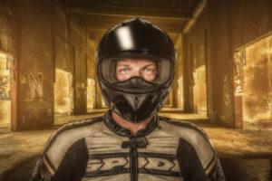 Composing Motorradfahrer