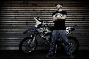 Portrait Moto Crosser