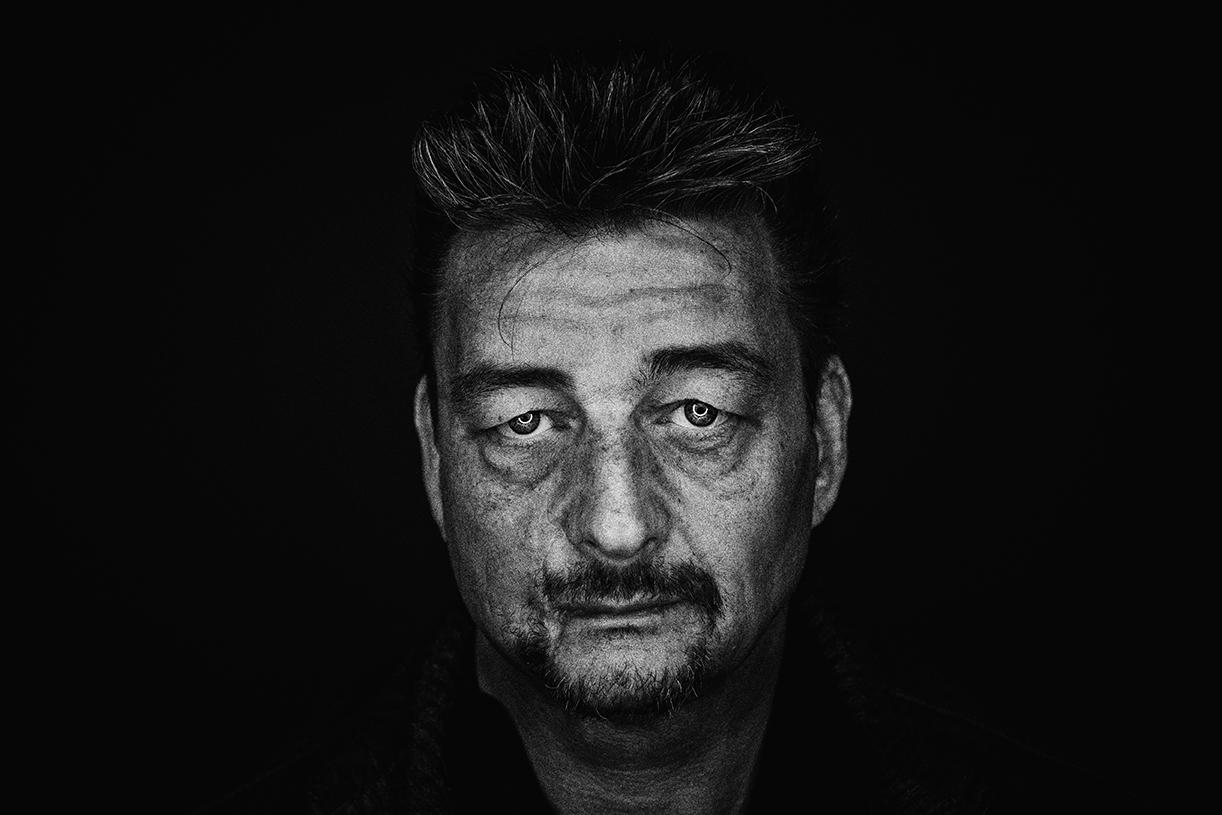 Portraitfoto mit Ringlicht