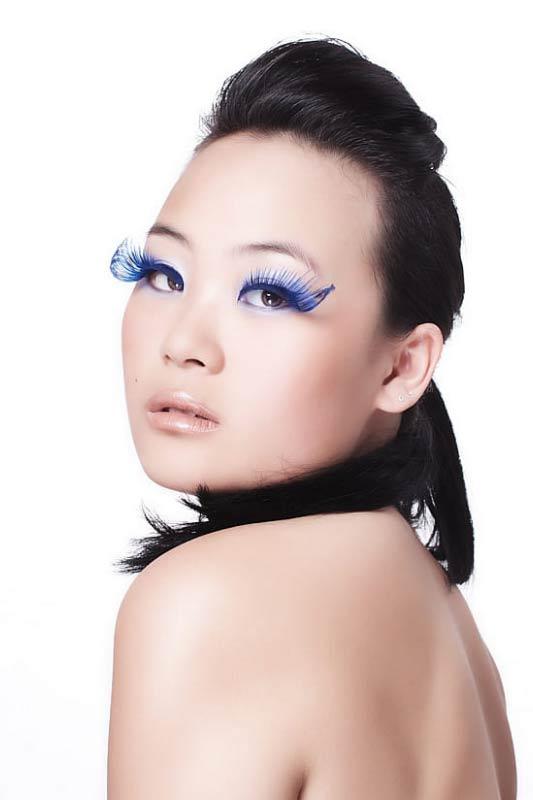 Portrait einer asiatischen Frau