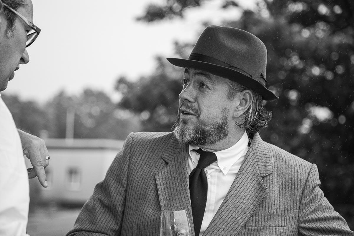 Schwarz-Weiß Portrait-Foto