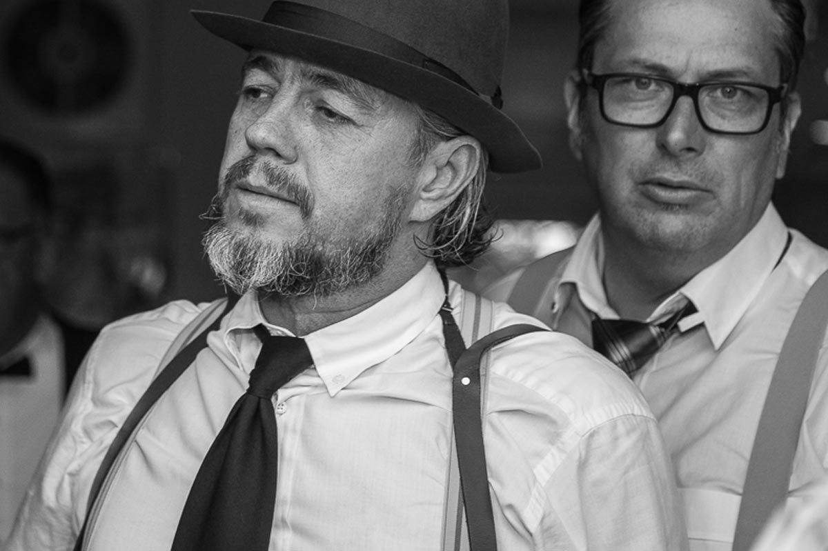 Mafia in Duisburg - Fotoshooting