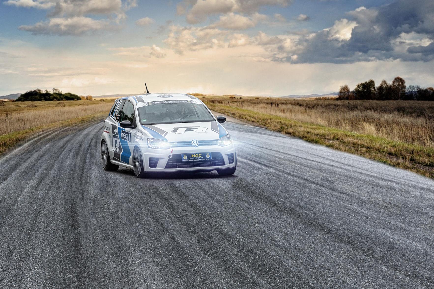 Polo WRC Rennstrecke